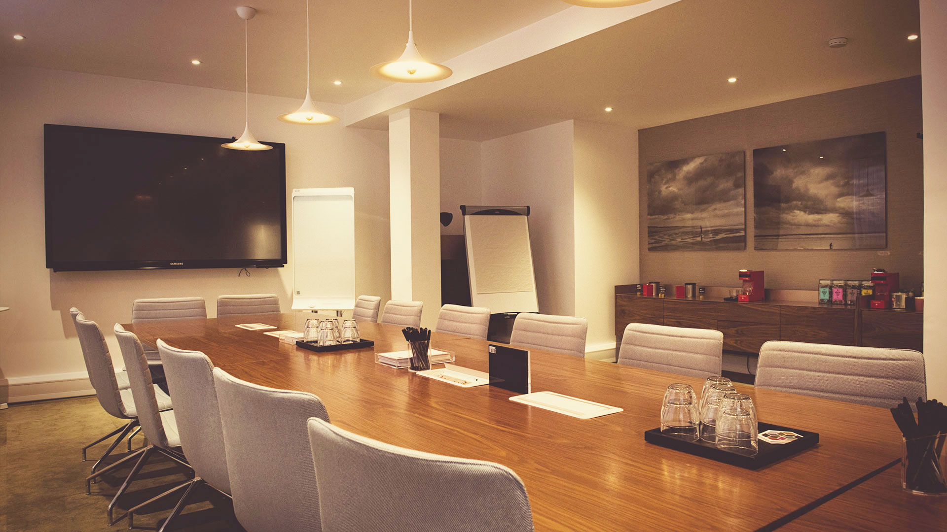 St Pancras Meeting Rooms - Boardroom