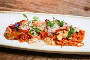 Lobster tagliatelle at Karpo Grill King's Cross